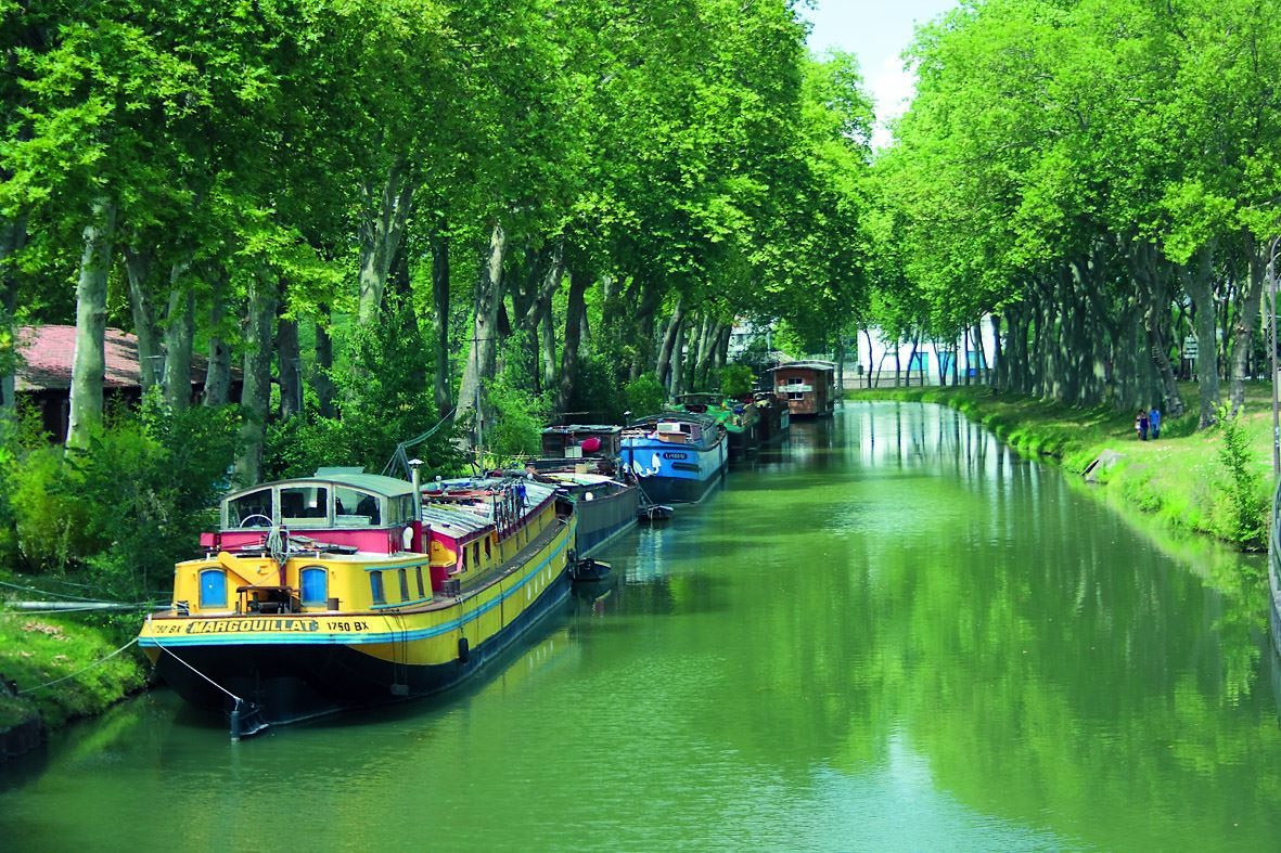 Week-end au fil du Canal du Midi