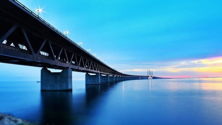 Be thrilled by the Bridge themed bus tour of Malmö