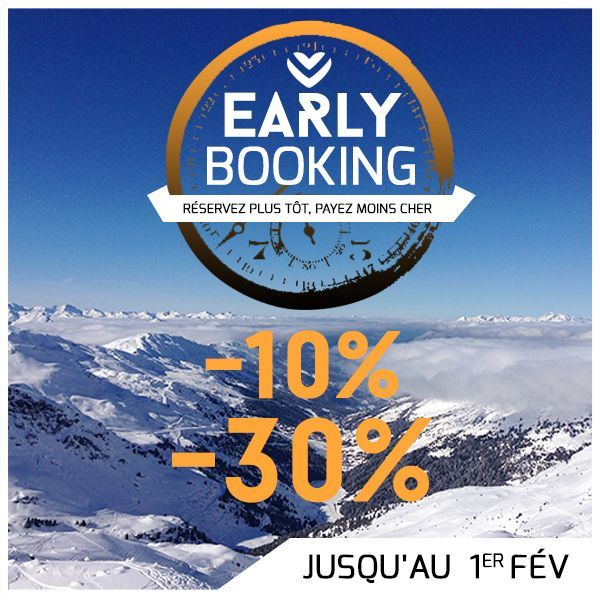 BOOK EARLY, SAVE MONEY. UP TO 30% REDUCTION ON YOUR PACKAGE