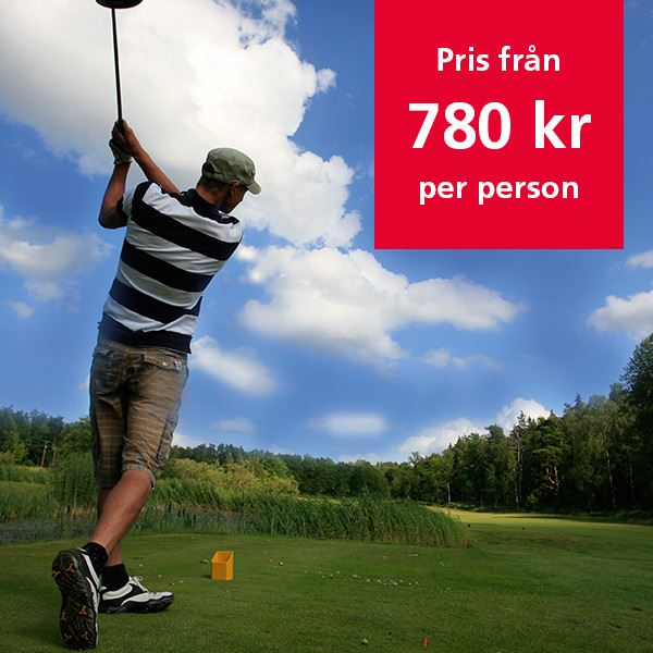 Experience Golf in Norrköping, <br>play 1 day