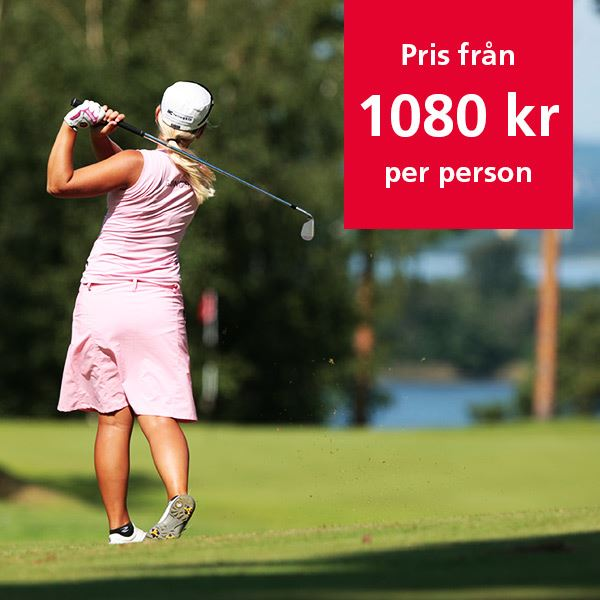 Experience Golf in Norrköping, <br>play 2 days