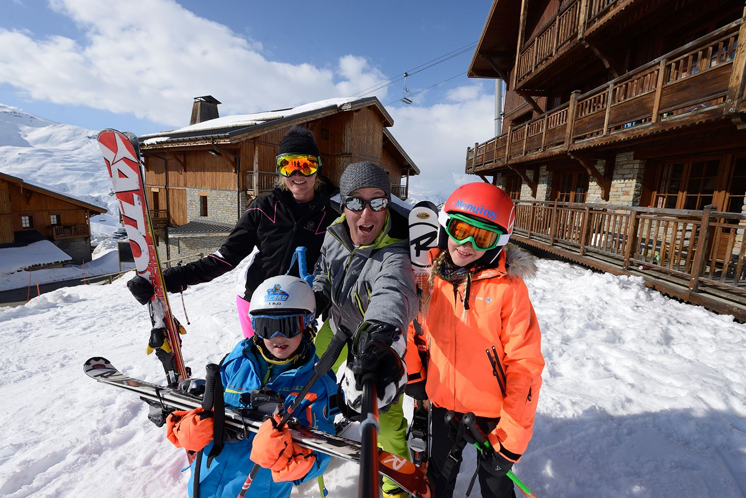 Family Ski, Ride and Fun