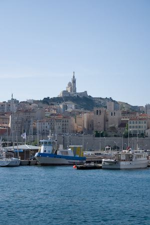 Marseille overlooking the sea