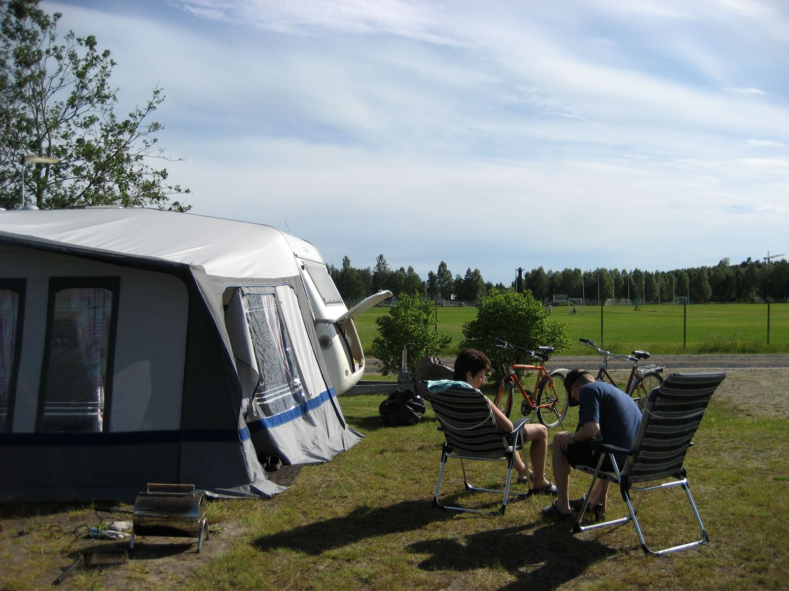 First Camp Umeå / Camping