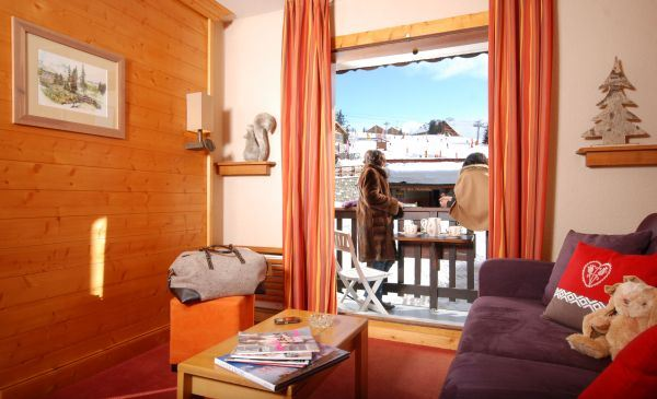 GRAND CHALET DES PISTES - 2 PIECES 4/6 PERSONNES - D223