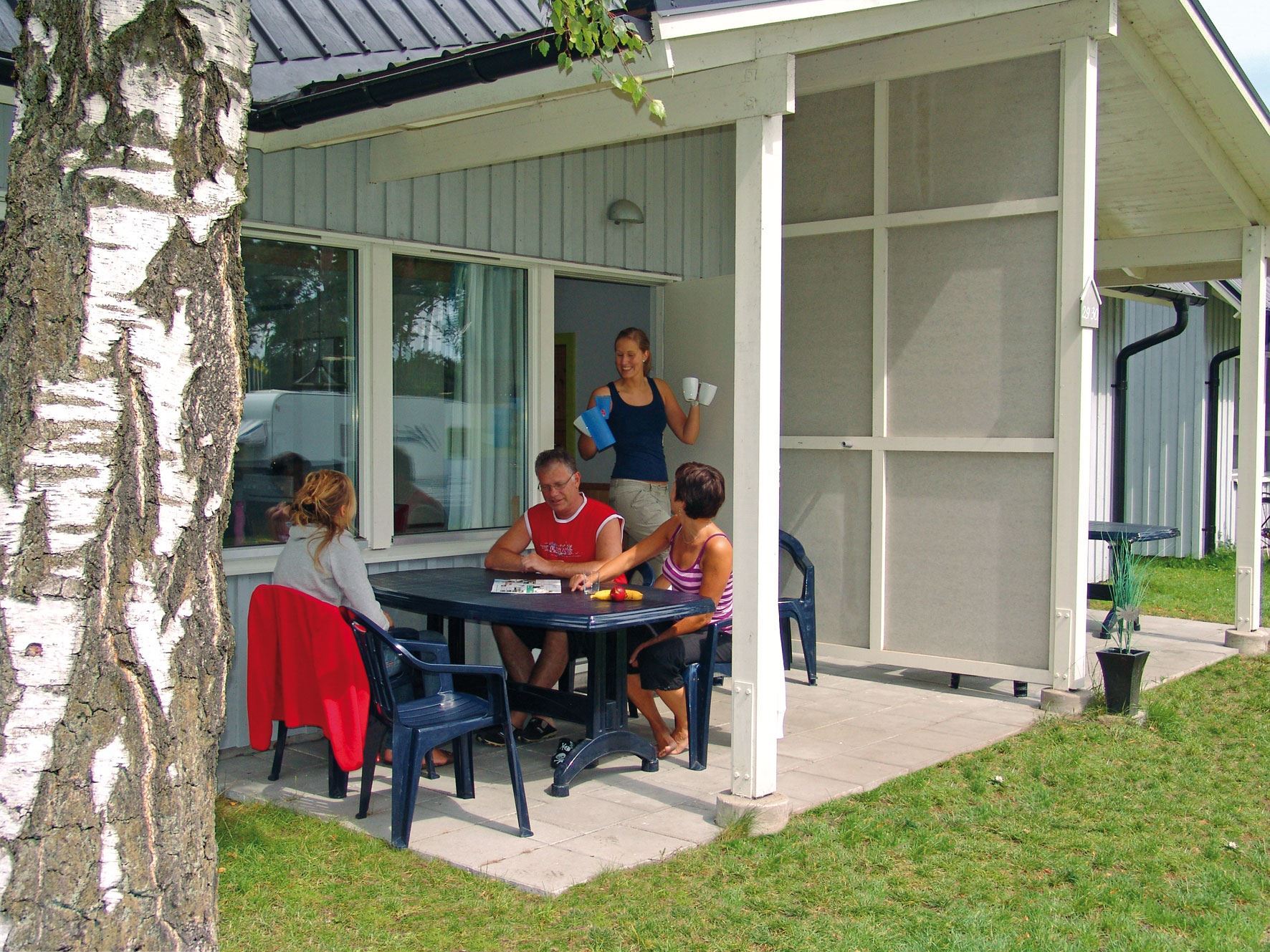 Sandskogens Camping - Cottages