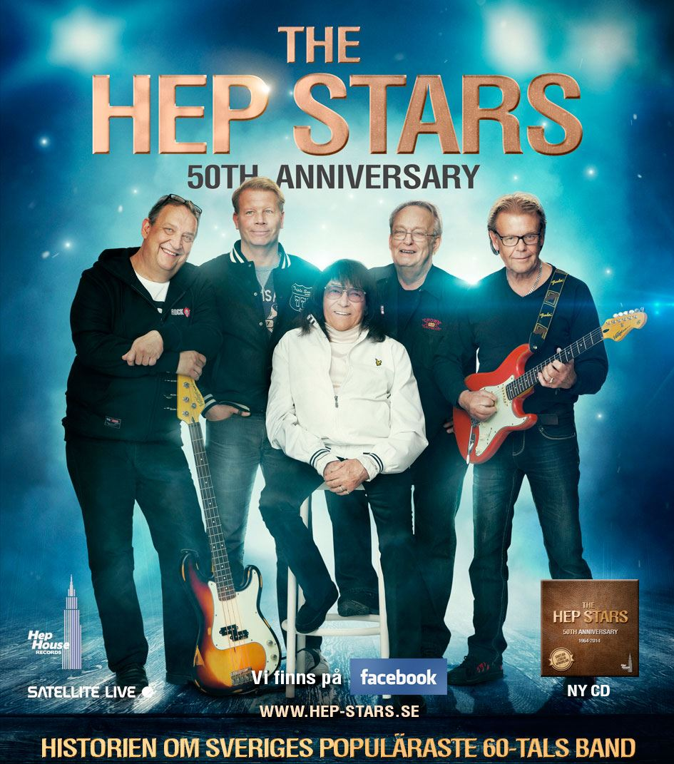 Konsert - The Hep Stars 50 år!