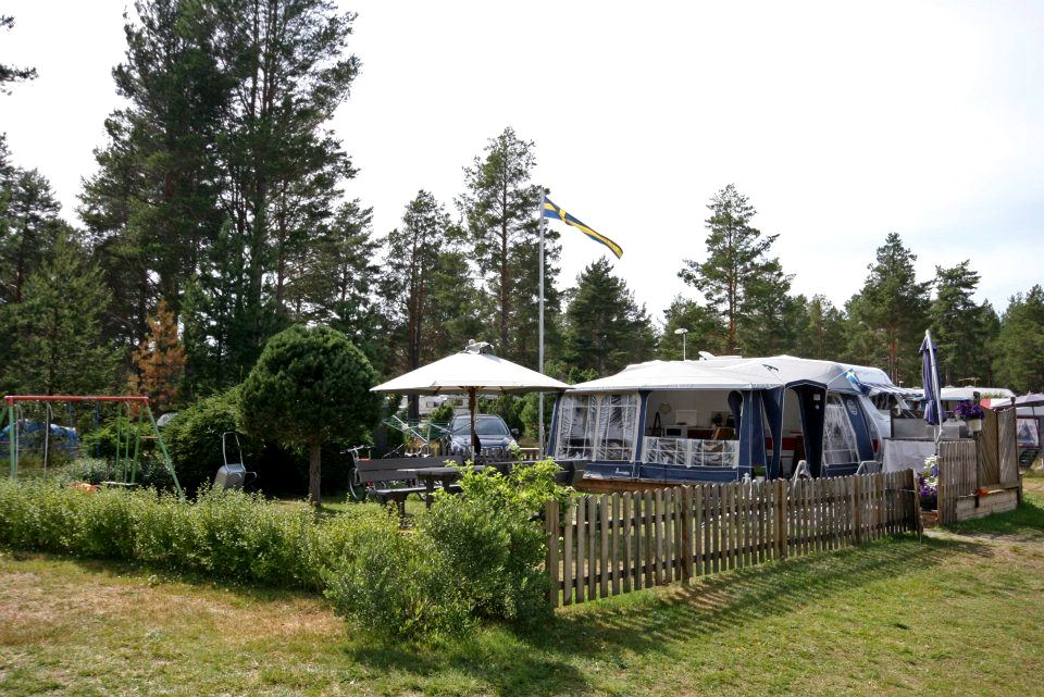 Bergafjärdens Camping & Havsbad caravan- and tent pitches