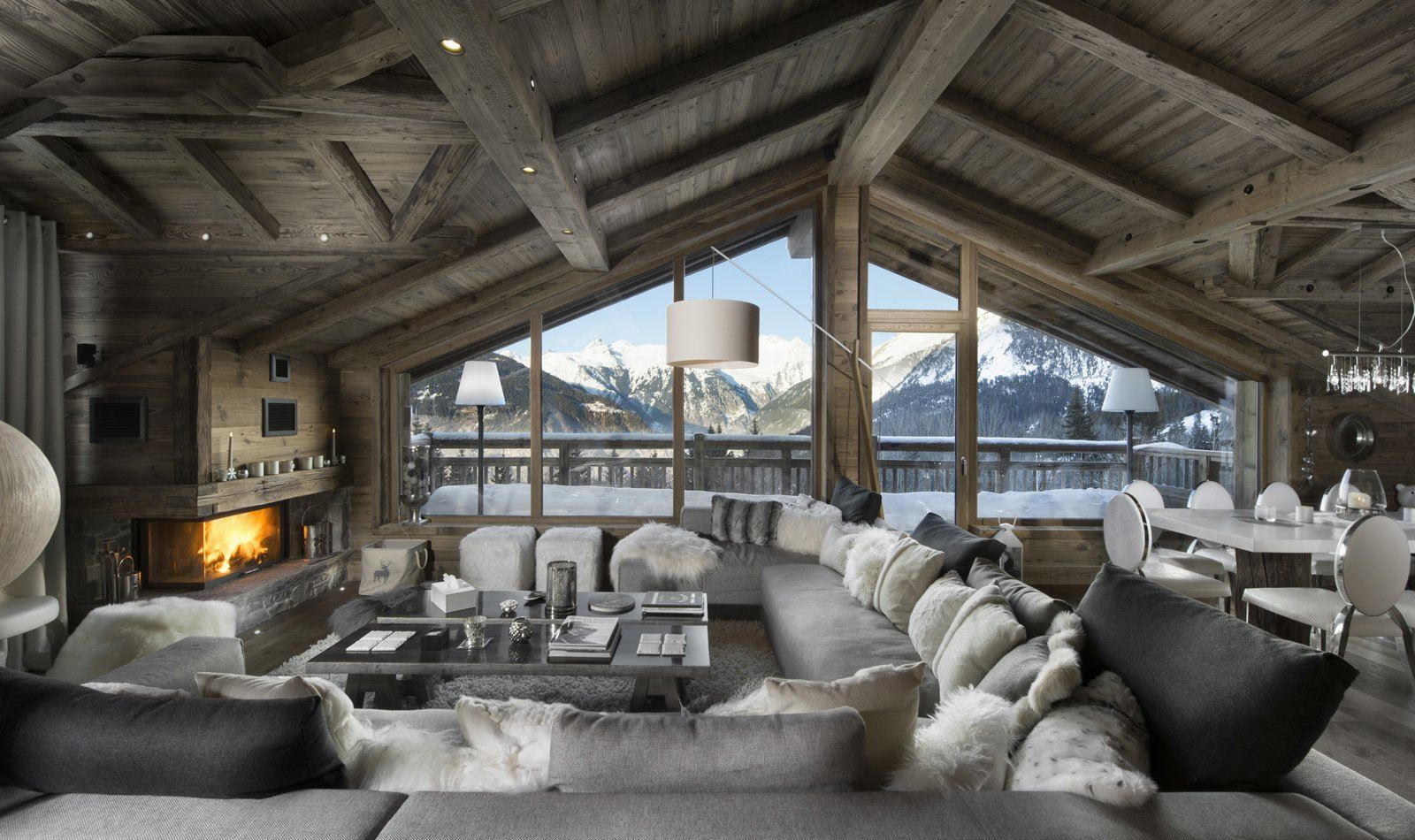CHALET L'OR BLANC: Chalet for 10 people