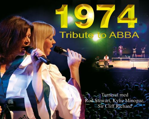 1974 tribute to ABBA - 40th anniversary tour