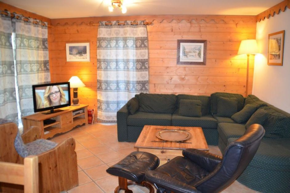 4 Rooms 6 Pers ski-in ski-out / HAMEAU DES MARMOTTES A7